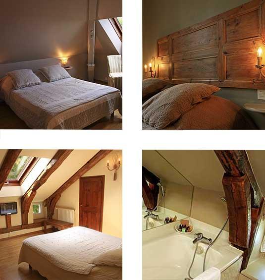 hotel restaurant ardeche-chambre-suite-décoration intérieur-charme-domaine de rilhac.