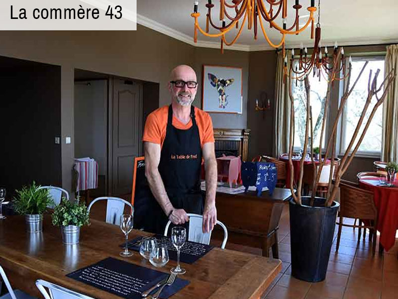 Article La Commere 43 La Table De Fred Domaine De Rilhac
